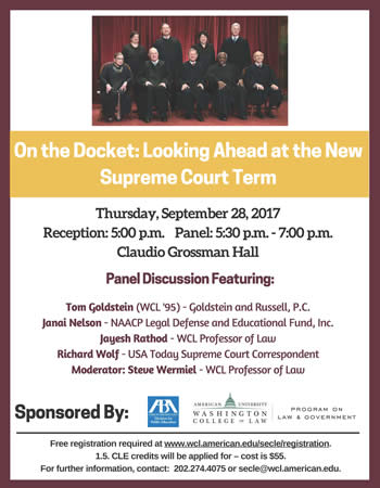 On the Docket: Looking Ahead at the New Supreme Court Term