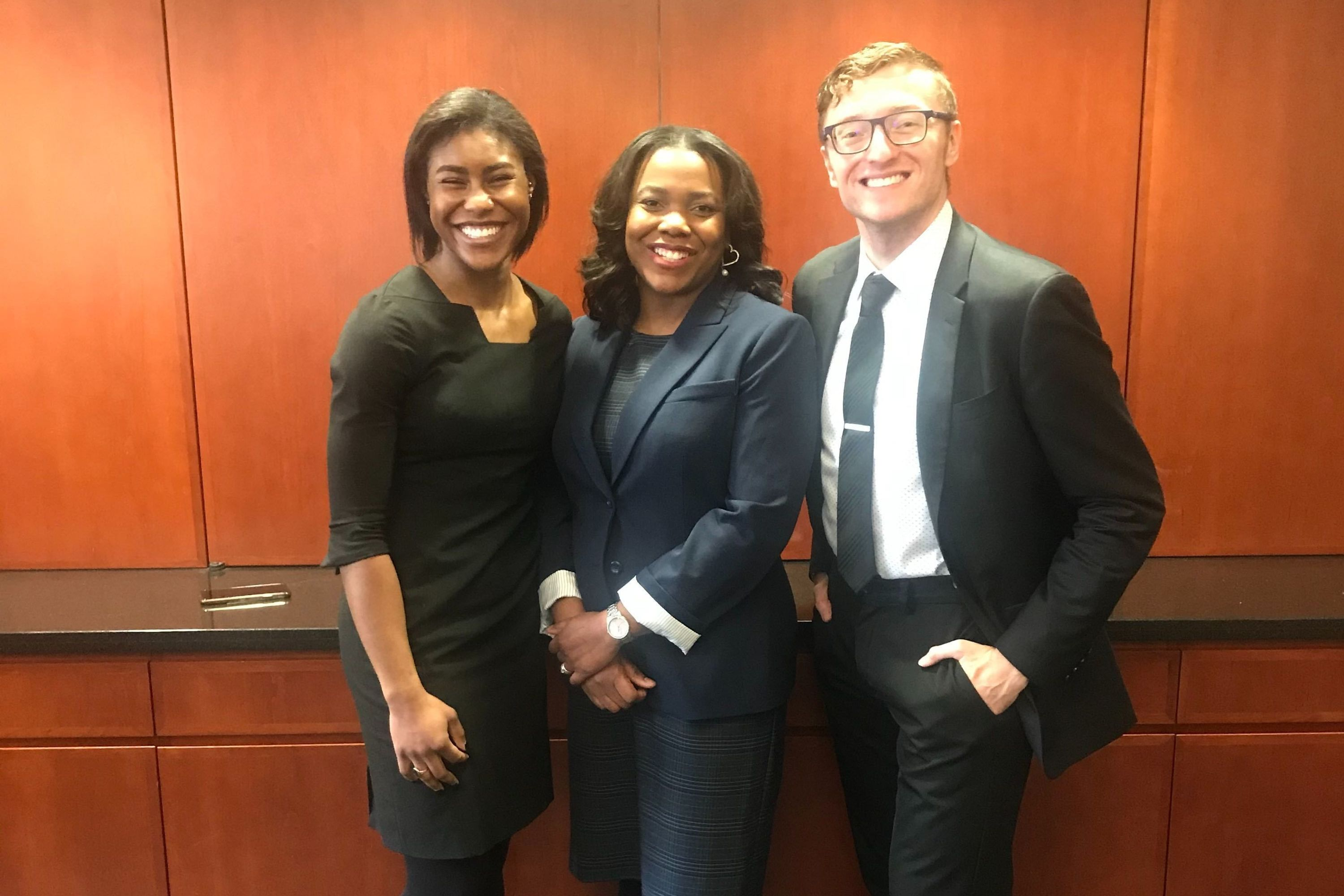 Fall 2019 ABA Negotiation Regional Competition Champions