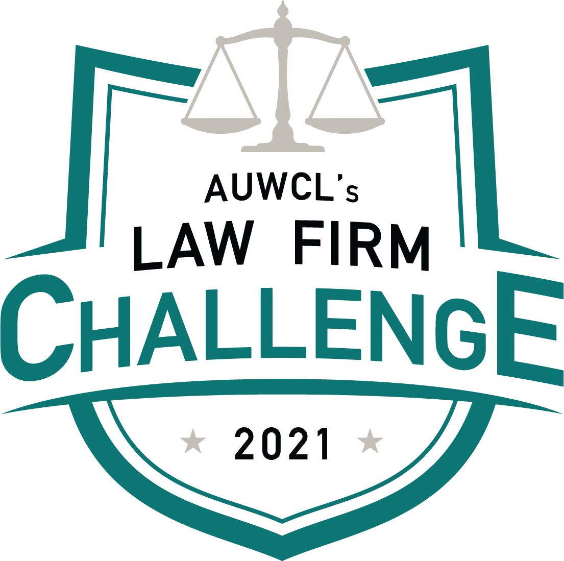 AUWCL's Law Firm Challenge logo