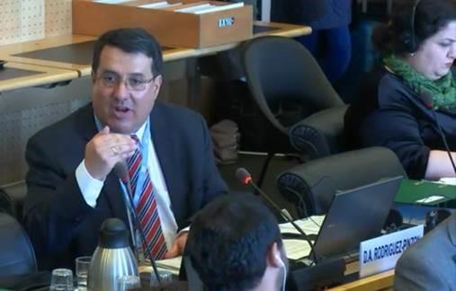 Diego Rodríguez-Pinzón participa en una revisión de Mexico durante la 66ª sesion del Comité de la ONU contra la Tortura