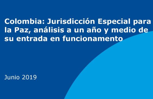 AUWCL Professors Participate in Release of a Report Evaluating the Work of the Special Jurisdiction for Peace in Colombia