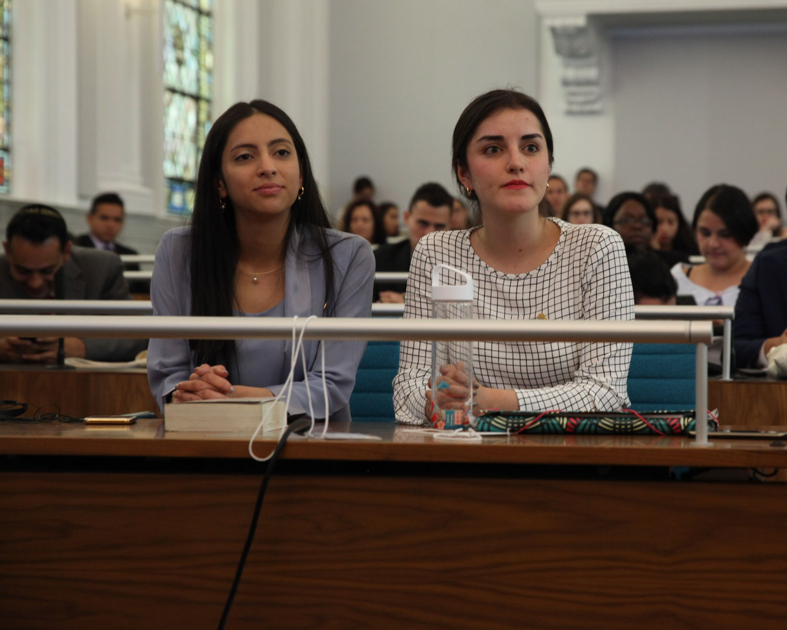 Students participate int the inter-american moot court competition