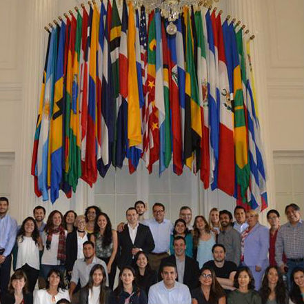 Visit to the Main Building of the Organization of American States