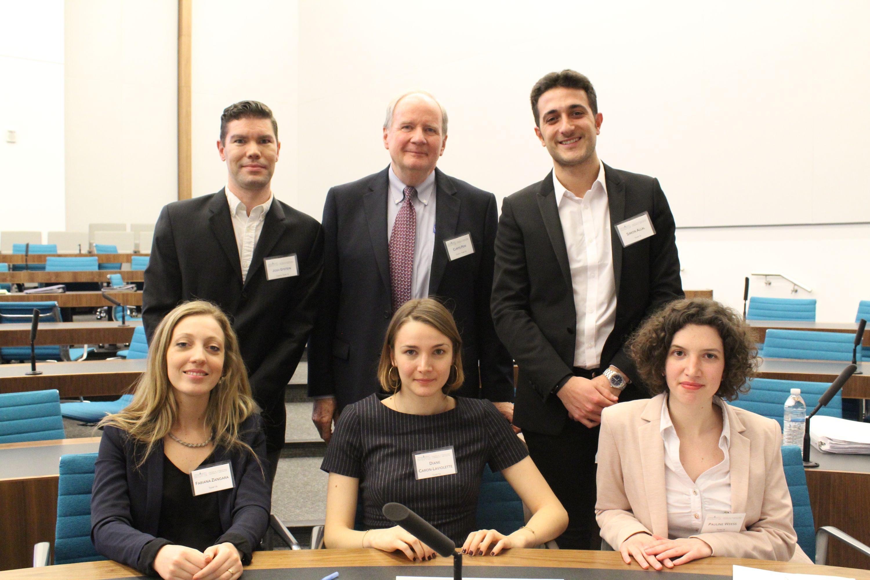 Team representing Cardozo Law School