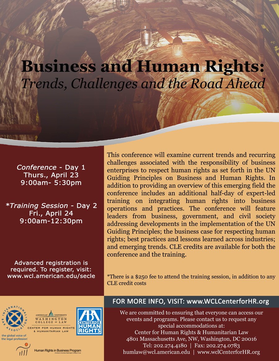 Business and Human Rights: Trends, Challenges, and the Road Ahead