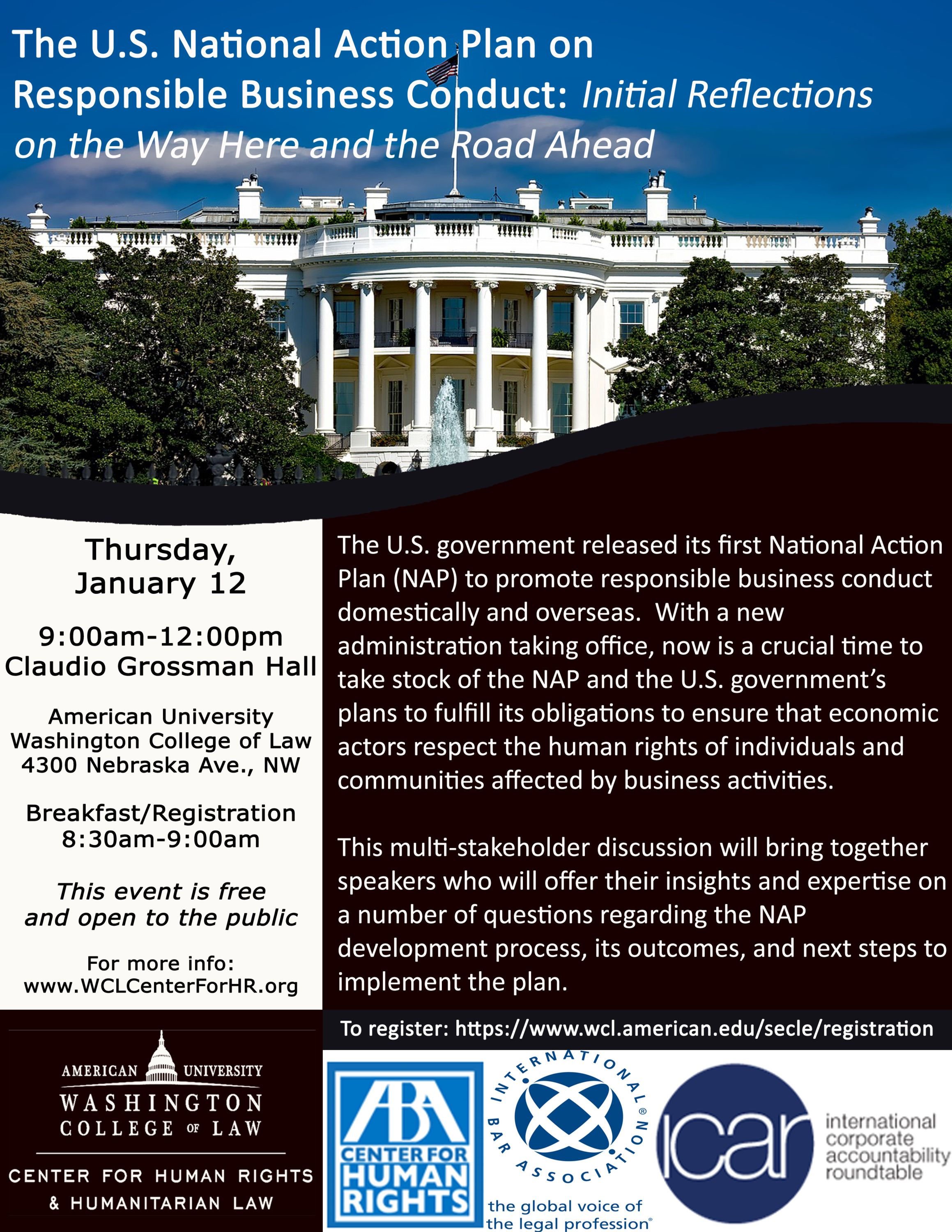 The U.S. National Action Plan on Responsible Business Conduct: Initial Reflections on the Way Here and the Road Ahead