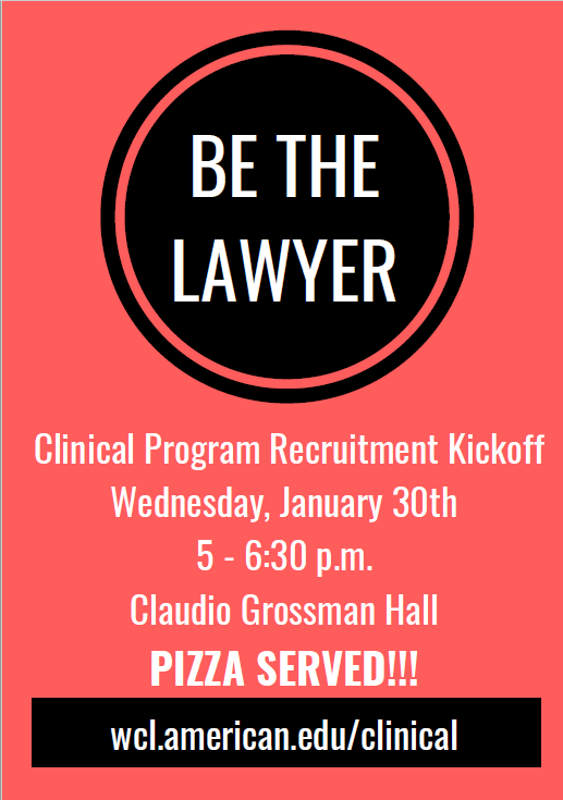 Clinic Event Flyer