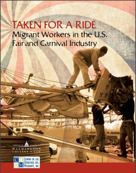 Taken for a Ride report cover