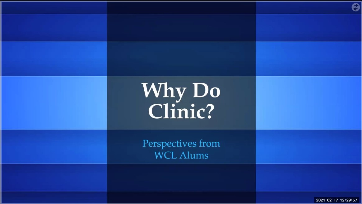 Why Should You Do Clinic?