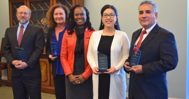 Two Clinicians Among Four AUWCL Faculty Members Recognized for Teaching and Service