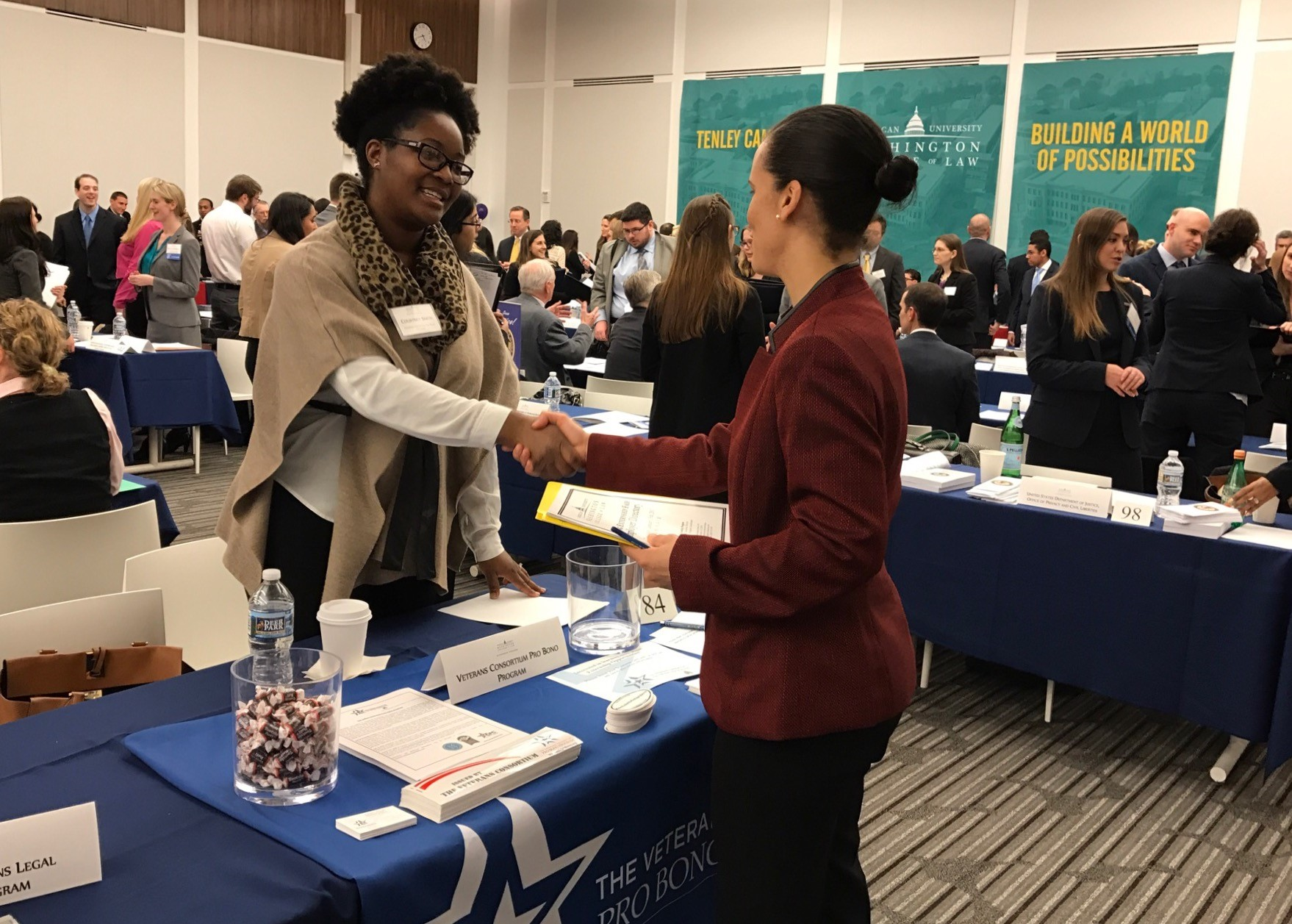 Externship Fair Table Talk