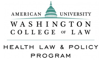Logo of health law progam at WCL