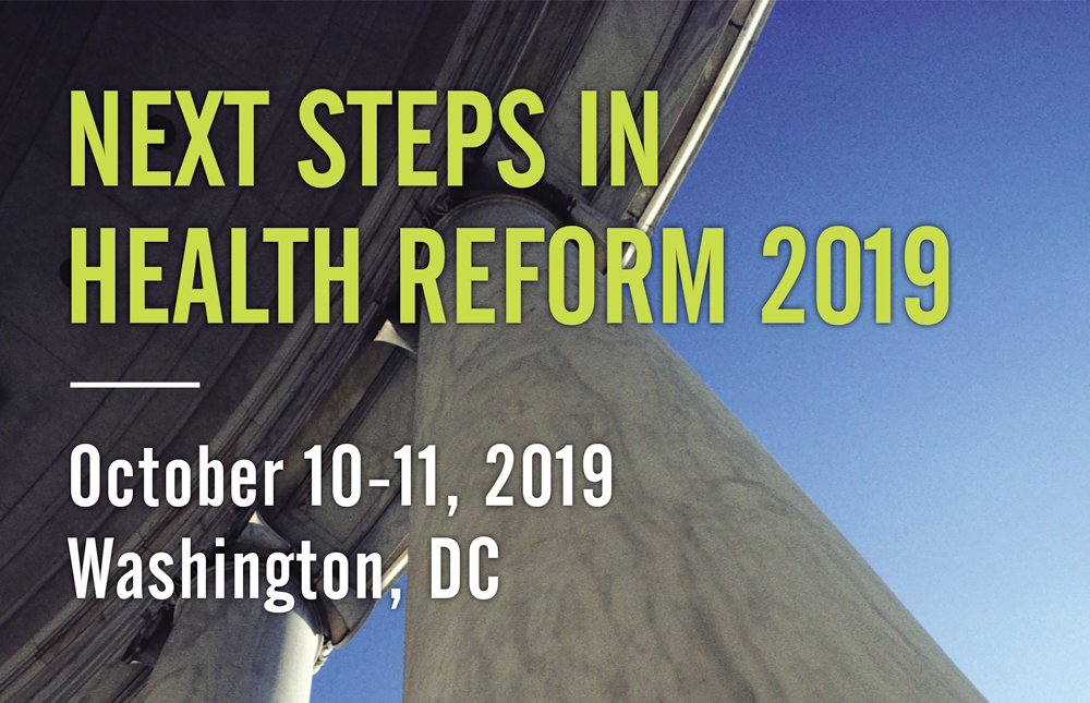Next Step Health Law Reform 2019 flyer