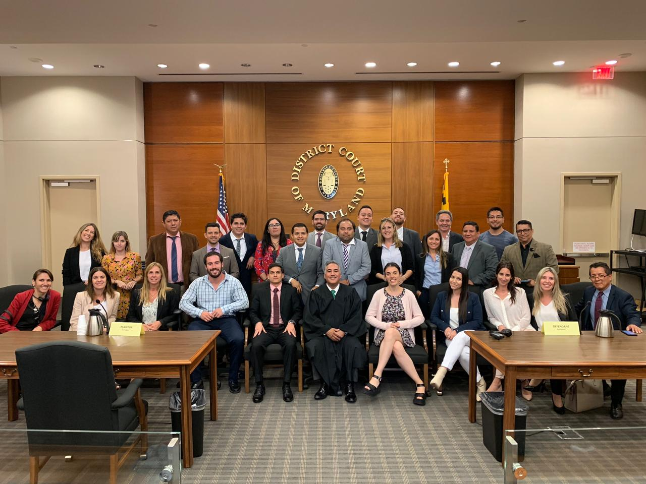 Trial Advocacy Program Participants