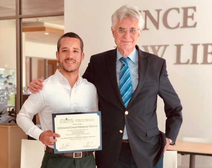 Johnnatan Palomino: Participant in 2019 Summer Program on International Arbitration