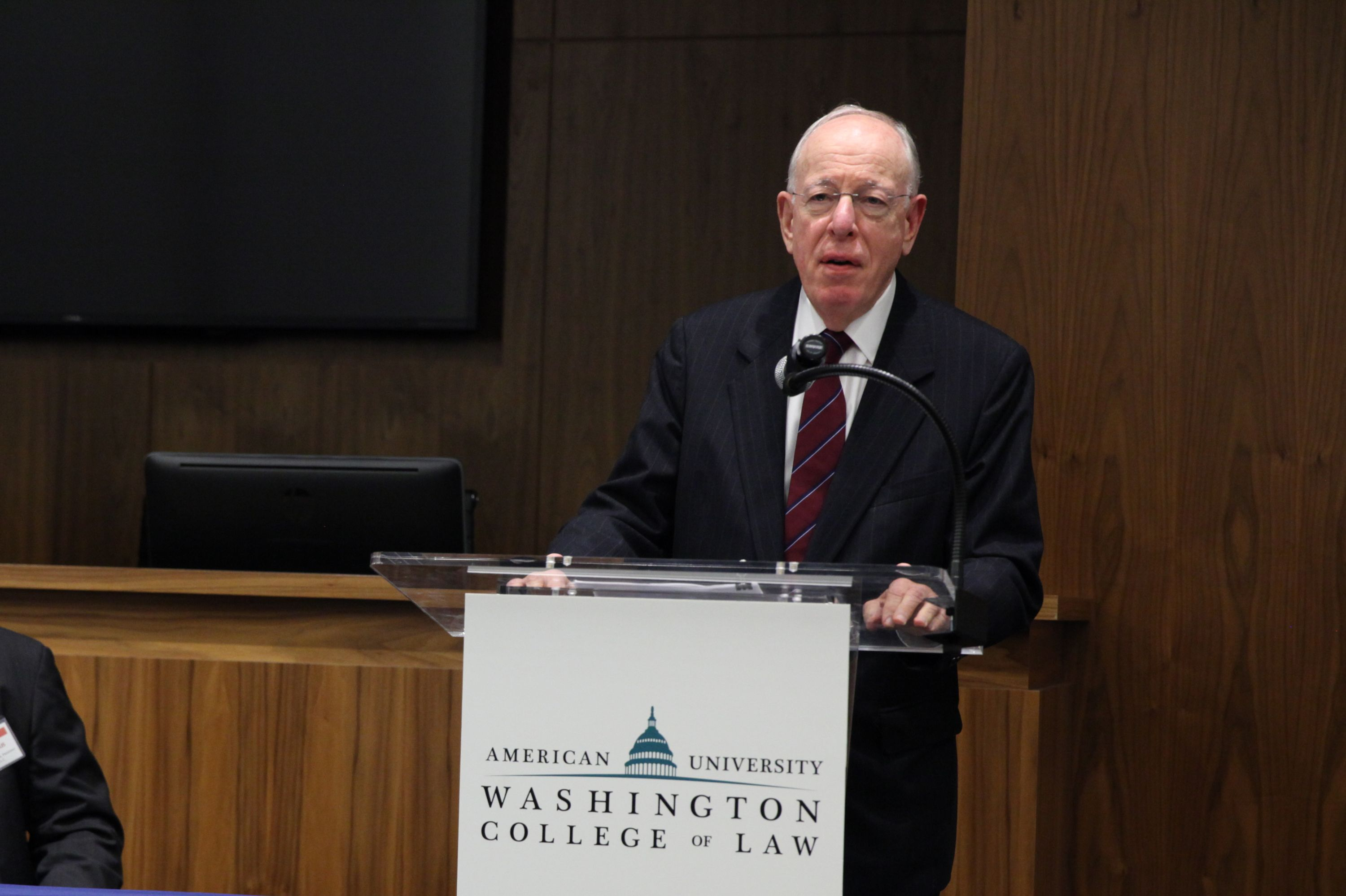 Trade and Peace: Ambassador Wolff Addresses AUWCL Community