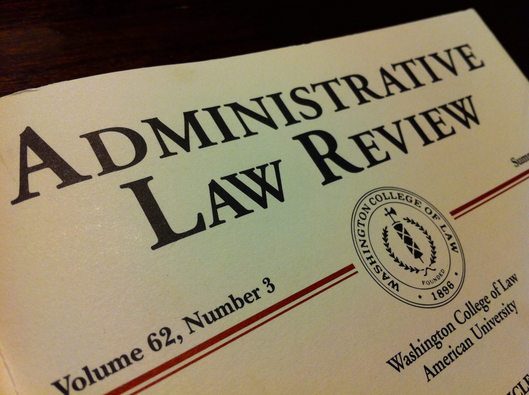 Administrative Law Review