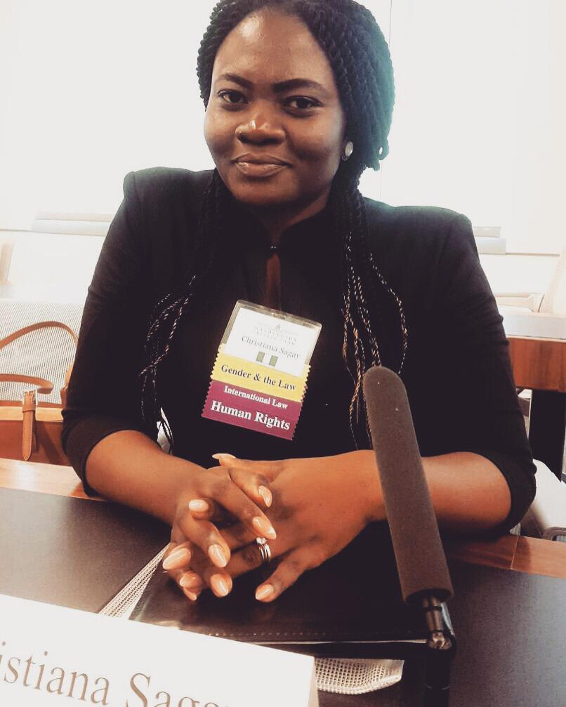 Christiana Essie Sagay, Gender & International Law '19