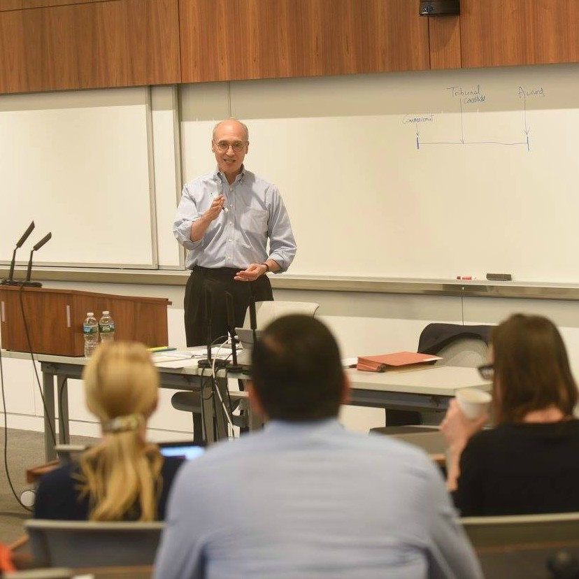 Faculty Teaching International Commercial Arbitration at WCL