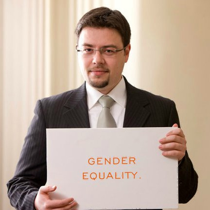 Sign Says Gender and Equality