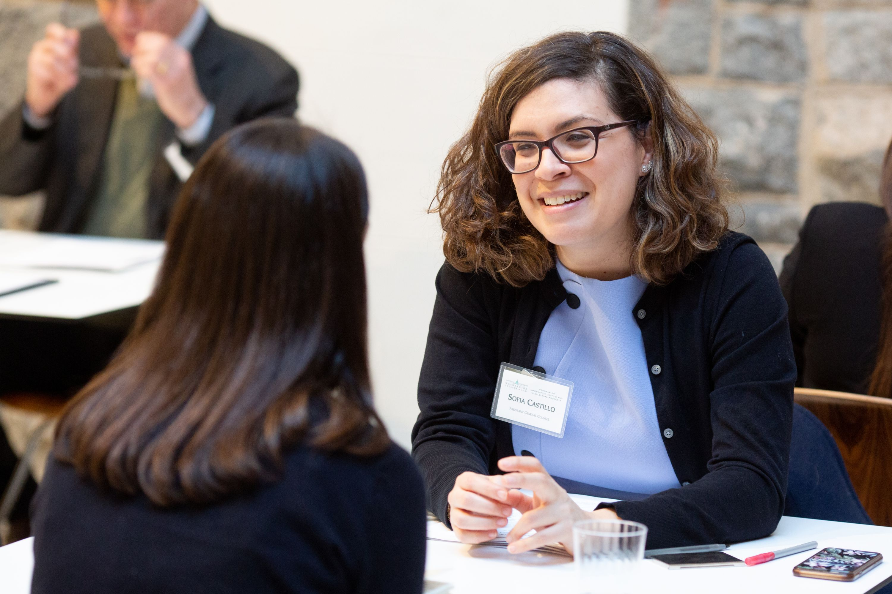 IP Alums Meet WCL Students in Career Coaching Event