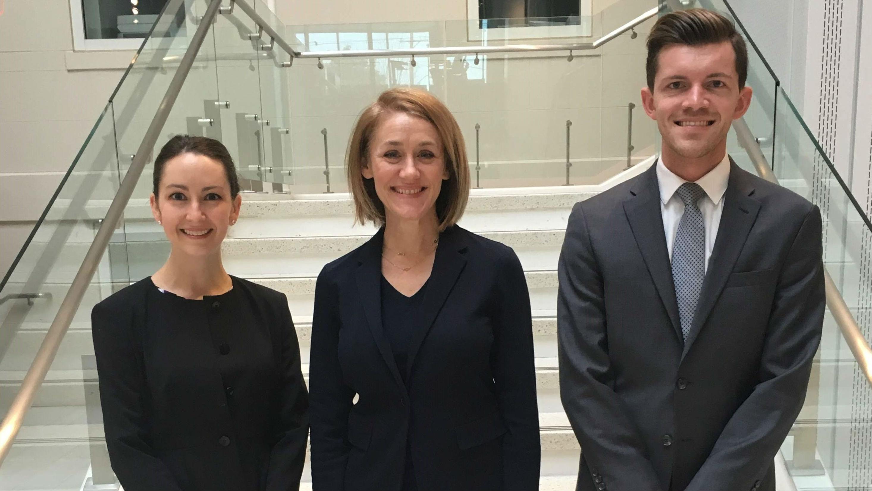 Students Lauren Mattioni and Elliot LaParne Win the International Trademark Association's Mid-Atlantic Regional Moot Court Competition