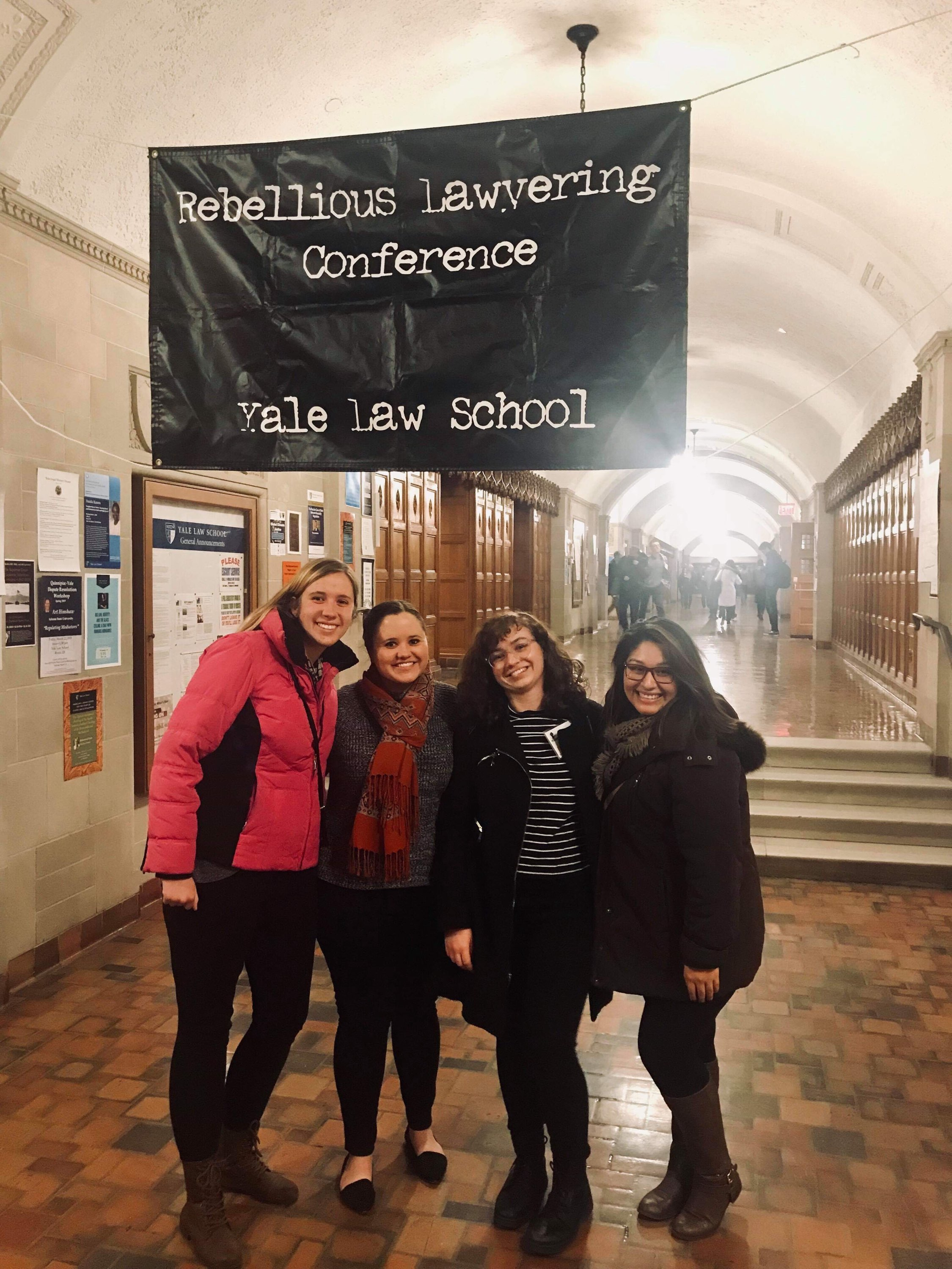 AUWCL Students Attend Annual Rebellious Lawyering Conference