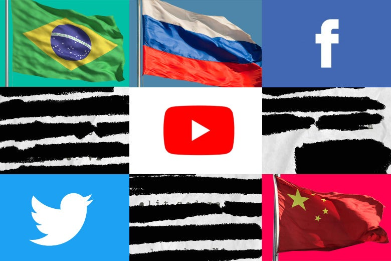 Facing COVID-19 Misinformation and Censorship in Brazil, Russia, and China