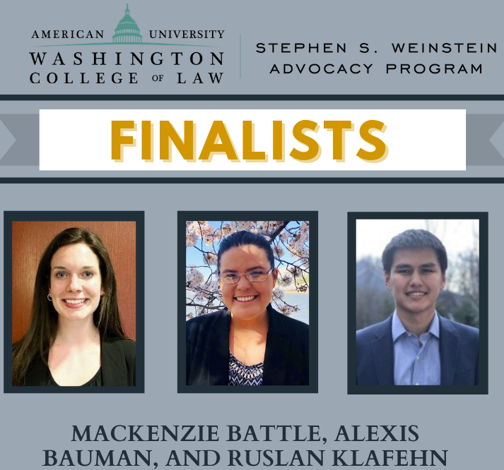 Program on Environmental and Energy Law (PEEL) team Finalists in the Stetson International Environmental Law Moot Court