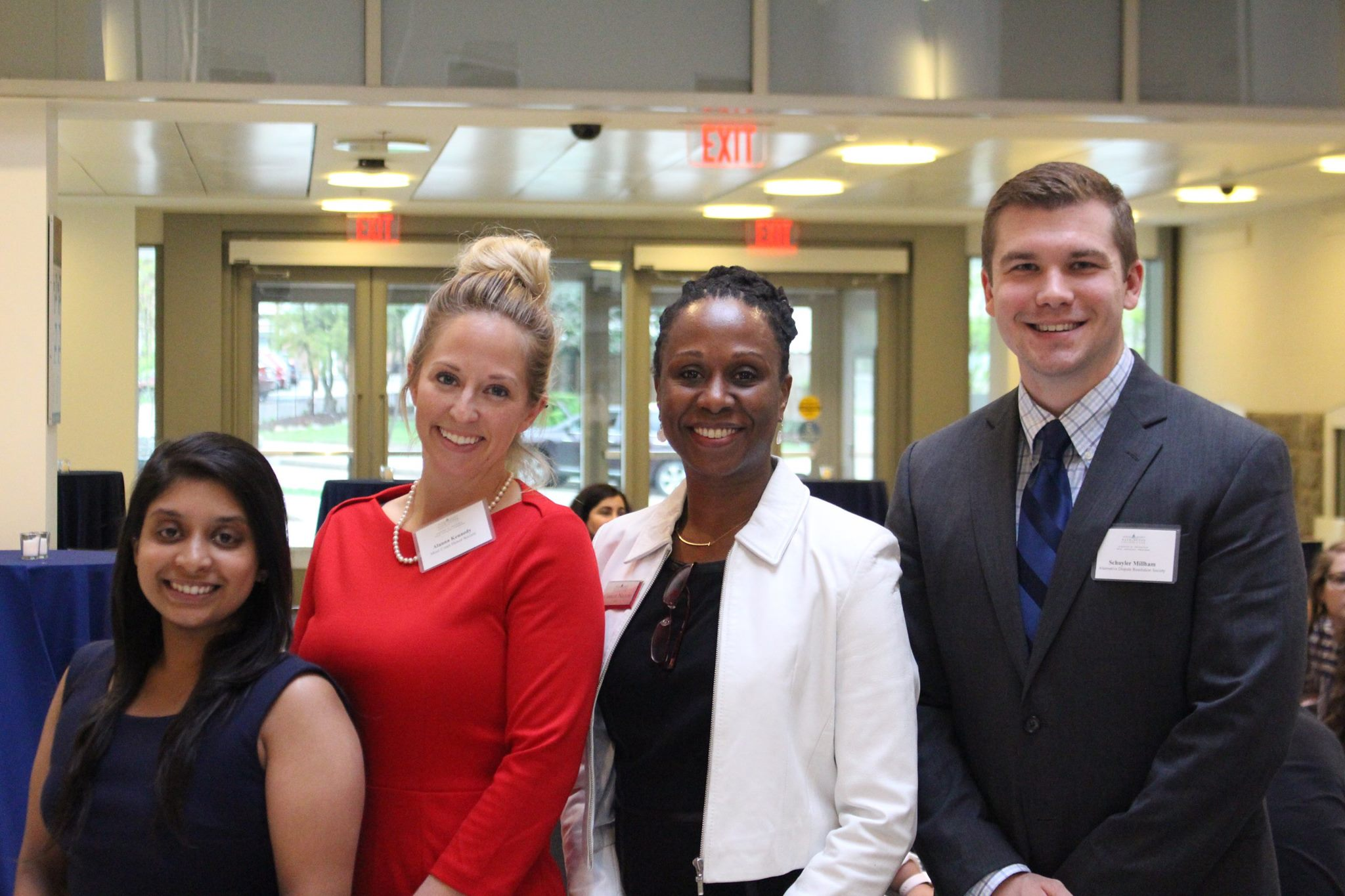 Moot Court Competition Teams and Trial Ad Faculty and Staff with Dean Nelson (5)
