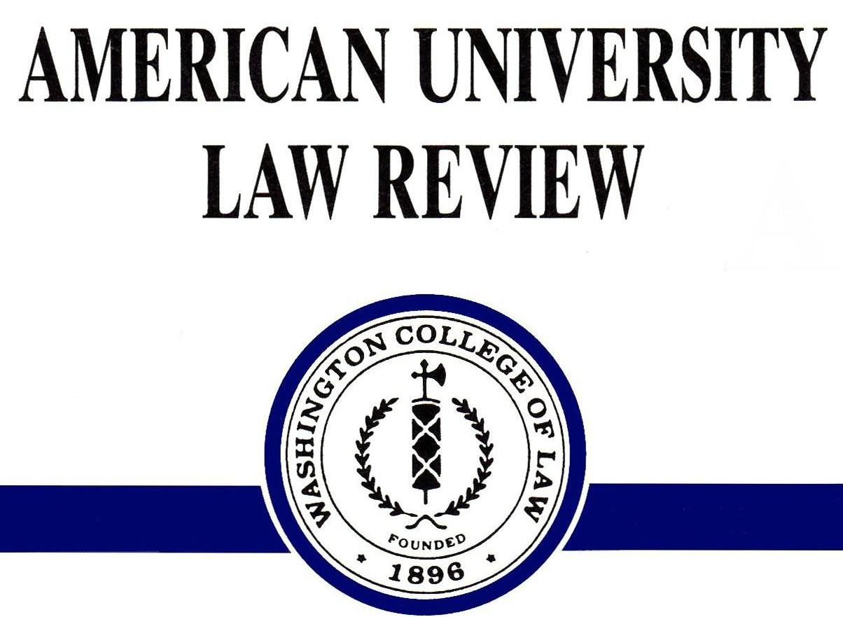 American University Law Review