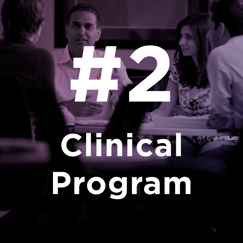 Clinical Program ranked #2
