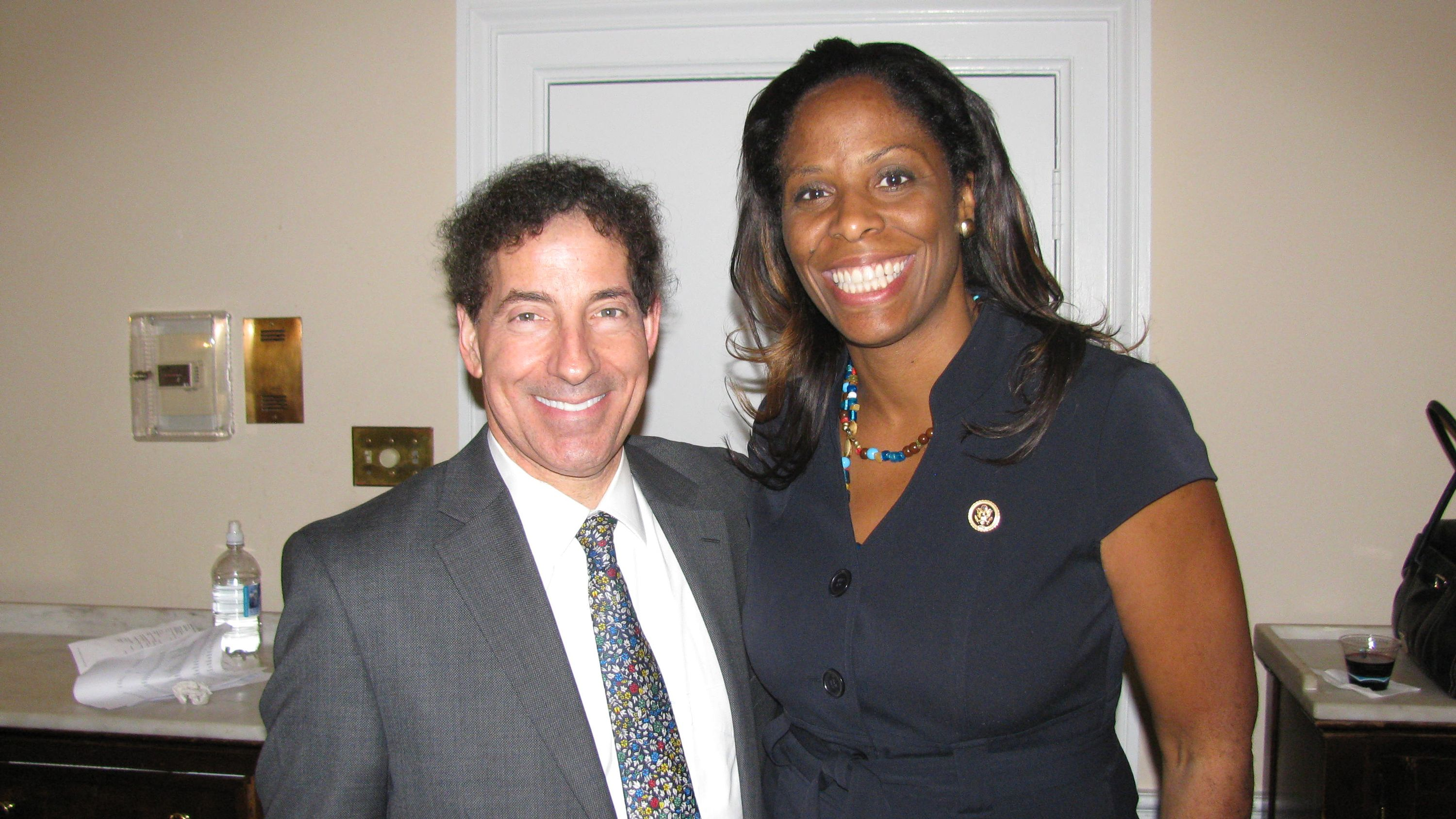 Jamie Raskin and Stacey Plaskett
