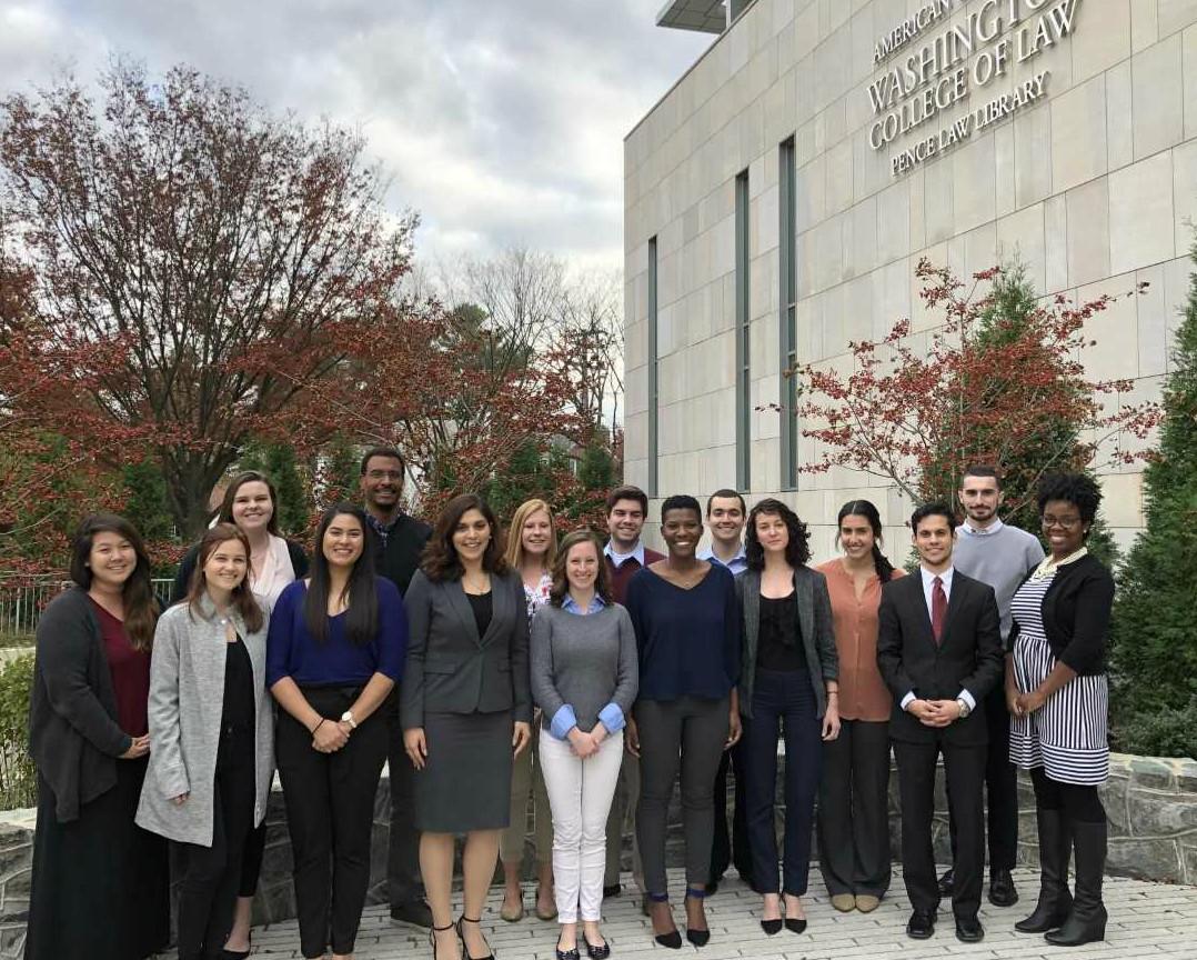 2017-2018 Marshall-Brennan Studens at WCL