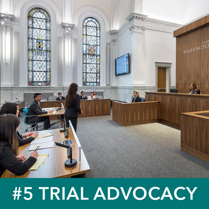 Weinstein Courtroom, Trial Advocacy