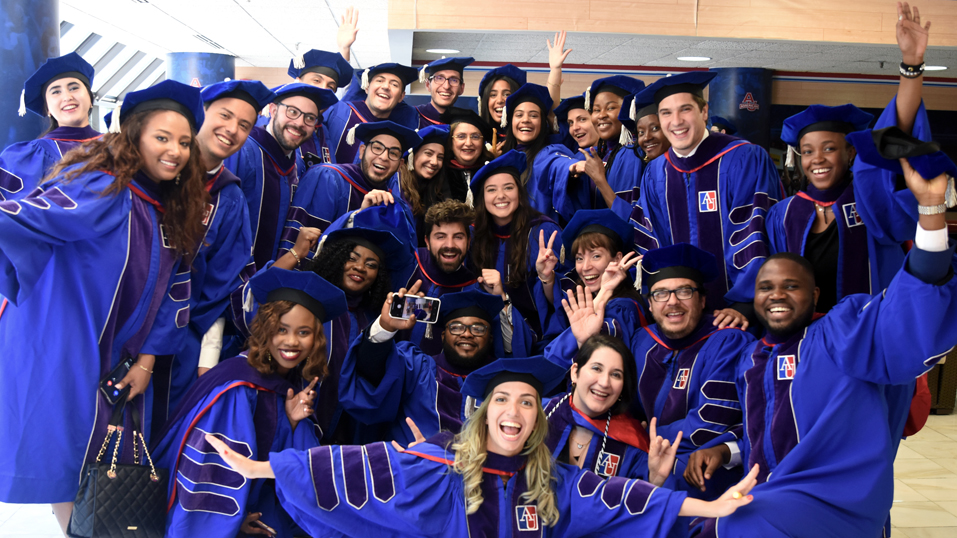 AUWCL graduates gearing up for the commencement ceremony
