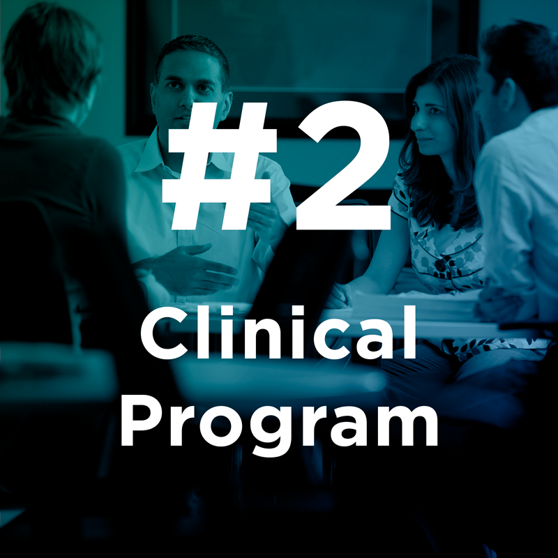 #2 Clinical Program