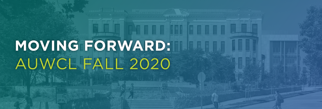 Moving Forward: Plans for Fall 2020