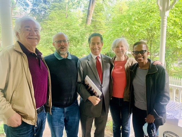 Jamie Raskin with AUWCL colleagues
