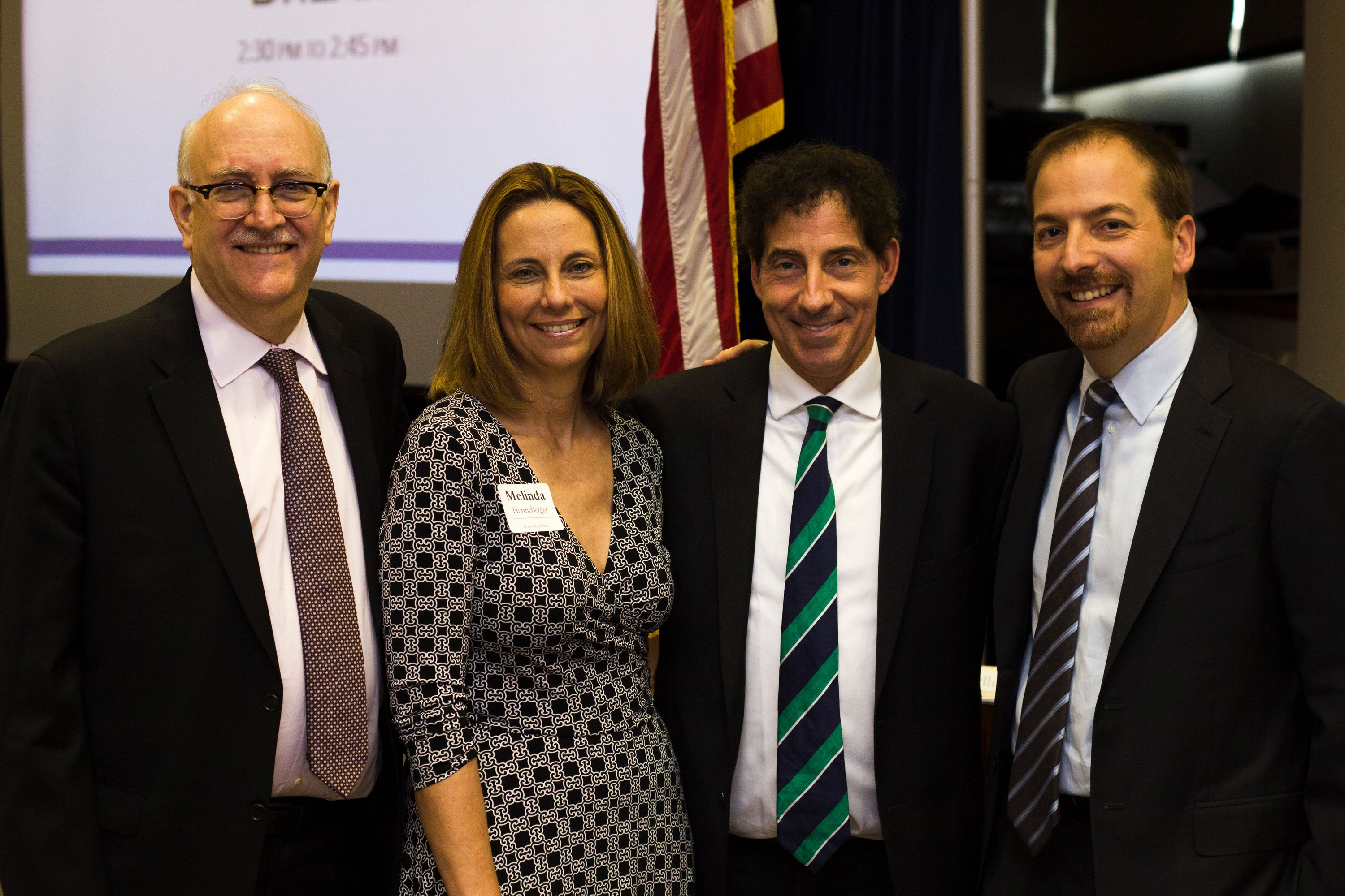 Harry Kresky, Melinda Henneberger, Jamie Raskin and Chuck Todd