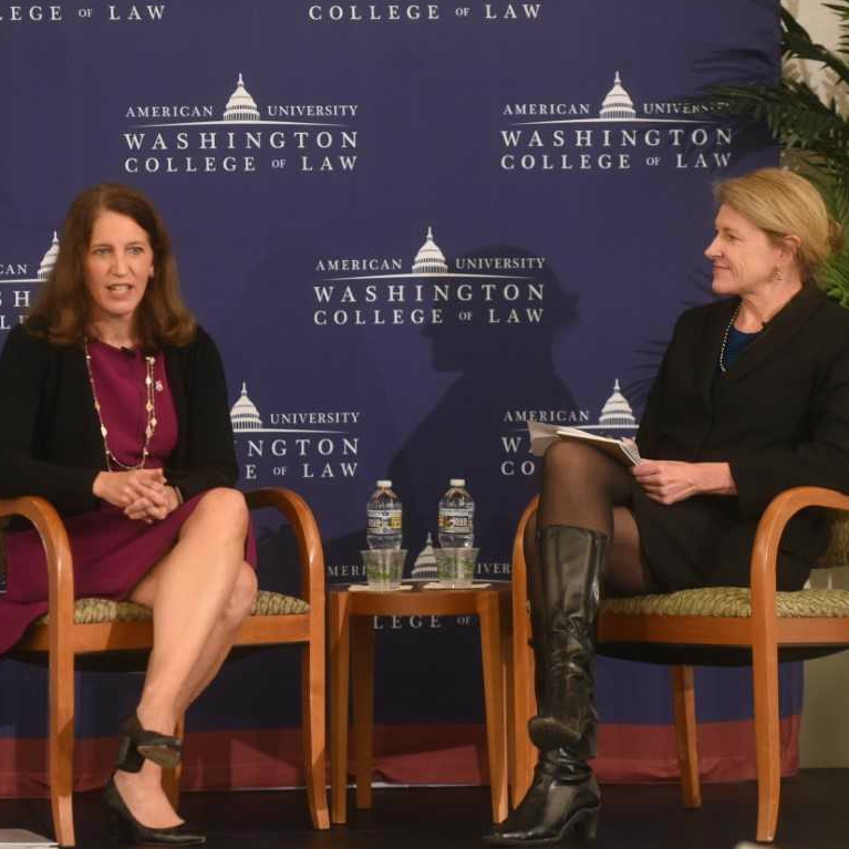 American University President Sylvia Mathews Burwell speaks with Jeanne Lambrew, Senior Fellow at The Century Foundation.