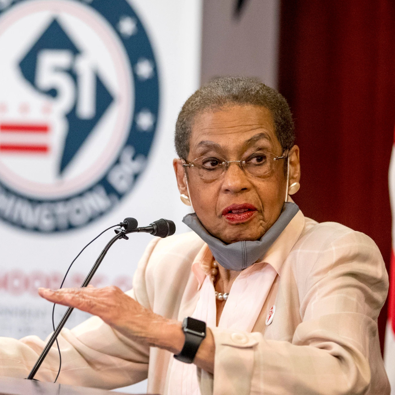 Congresswoman Norton