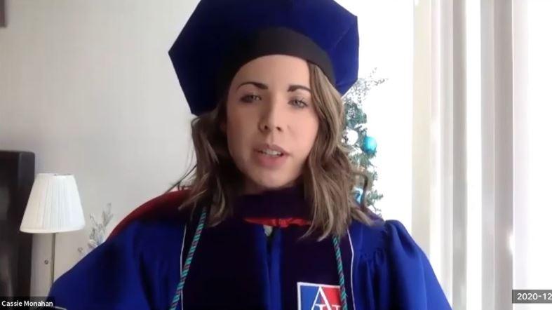 Spring '20 graduate Cassandra Monahan