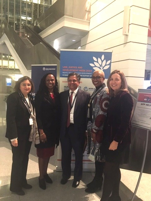 Staff and faculty attend world bank event