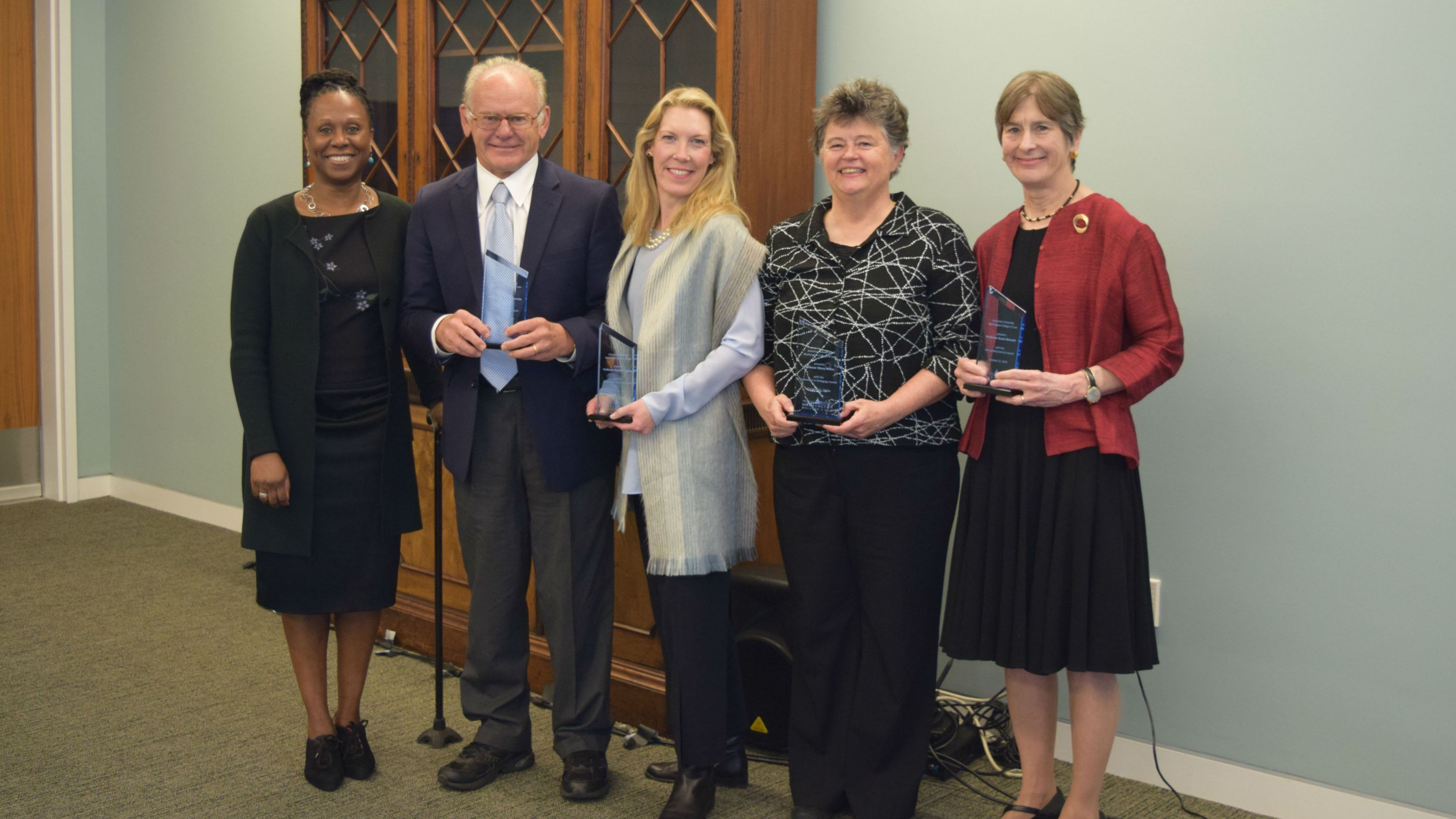 2018-2019 faculty awardees