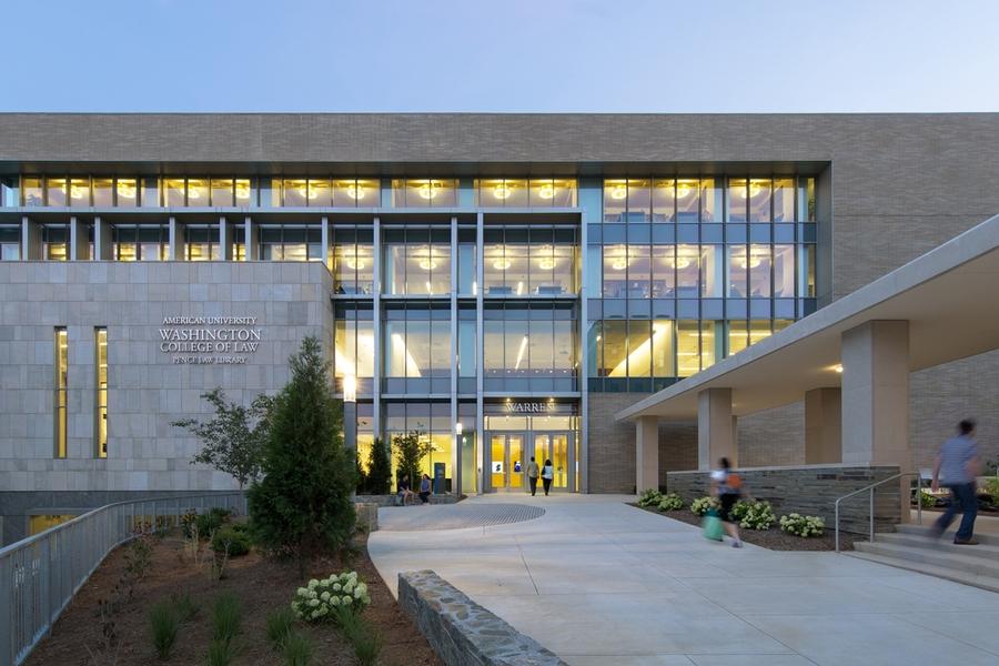 Warren Entrance to WCL