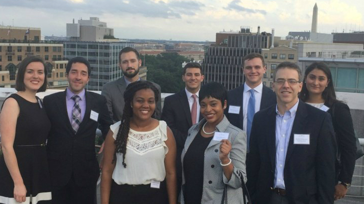 AUWCL Holds Reception for Incoming Fall Class at Arent Fox LLP