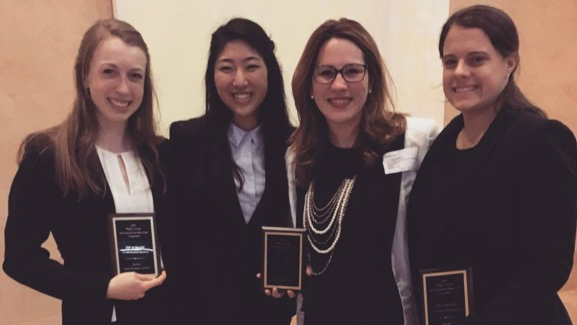 AUWCL Jessup Moot Court Team Advances to Round 16 of International Competition