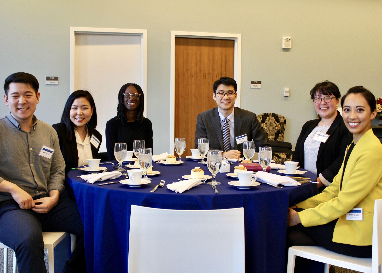 APALSA's incoming board and emeritus members.
