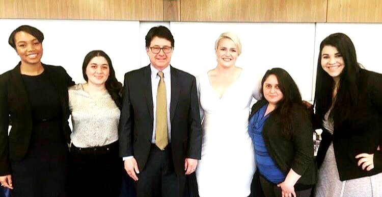 "Students with Attorney Dean Strang from the Netflix Documentary, ""Making a Murderer."""